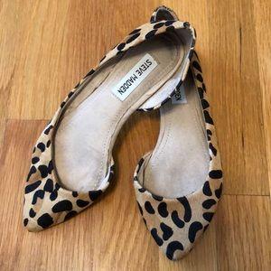 Steve Madden Shoes - Steve Madden Leopard Flats